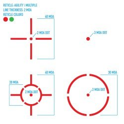 AGILITY 1X30 HUNTING RED DOT