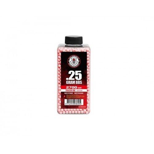 BILE DE 0.25G - 2700 BUC. - FOSFORESCENTE - RED