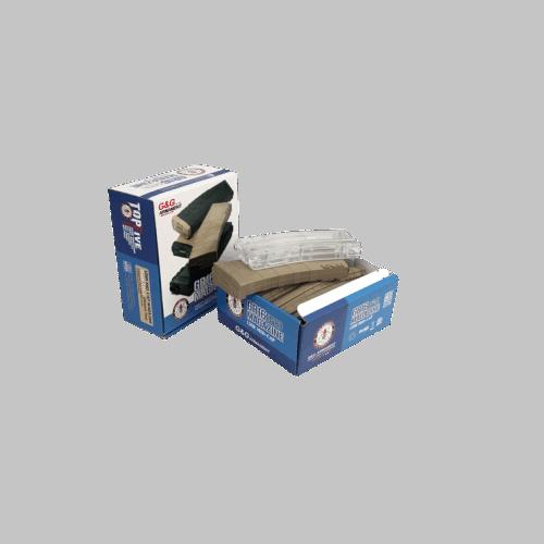 INCARCATOR DE 120 BILE - GR16 - 5 BUCATI - DESERT TAN PLUS ALIMENTATOR DE 420 BILE - TRANSPARENT