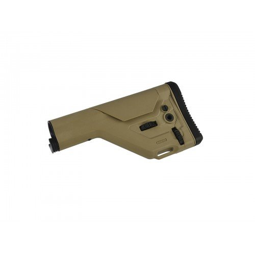 ADJUSTABLE STOCK UKSR FOR STOCK TUBE - TAN