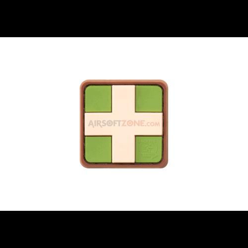 PATCH CAUCIUC RED CROSS - 25MM - MULTICAM