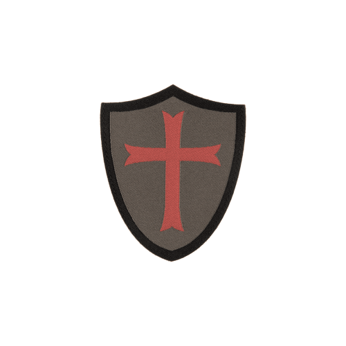 PATCH CRUSADER SHIELD - RAL7013