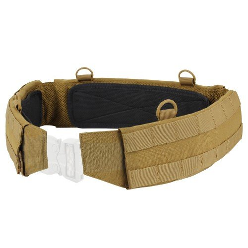 SLIM BATTLE BELT - COYOTE BROWN