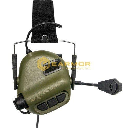 ANTIFOANE ACTIVE MODEL M32 TACTICAL MOD3 PLUS COMUNICATIE - FG