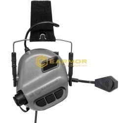 ANTIFOANE ACTIVE MODEL M32 TACTICAL MOD3 PLUS COMUNICATIE - GREY
