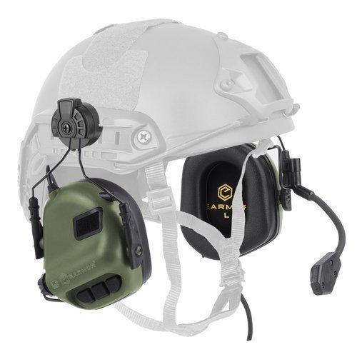 ANTIFOANE ACTIVE MODEL M32H PLUS  COMUNICATIE - PENTRU CASCA FAST - FOLIAGE GREEN