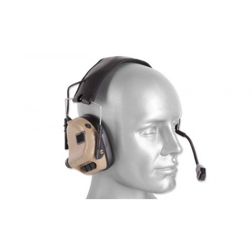 M32 TACTICAL COMMUNICATION - HEARING PROTECTOR - COYOTE