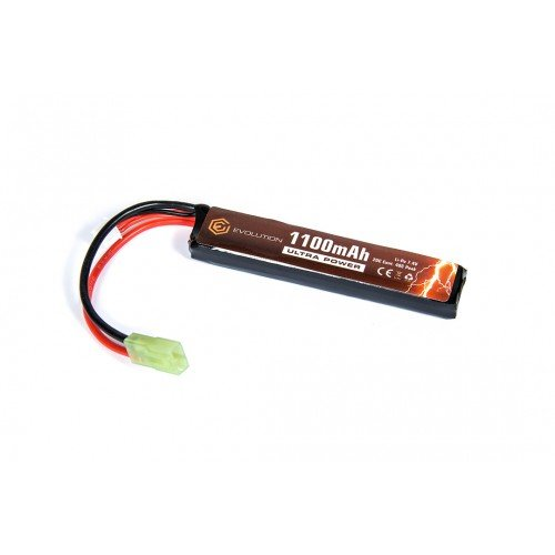LI-PO ACUMULATOR ULTRA POWER - 7.4V - 1100MAH - 20C - 40C