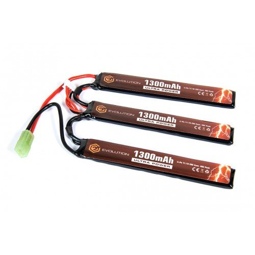 LIPO - ACUMULATOR ULTRA POWER 11.1V - 1300 MAH - 20C - MINI-TYPE