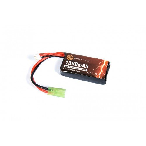 LIPO - ACUMULATOR ULTRA POWER 7.4V - 1300 MAH - 20C - MINI-TYPE
