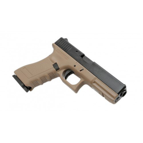 KP-17 METAL SLIDE - TAN - GBB