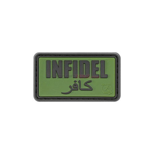 PATCH CAUCIUC - INFIDEL - FOREST