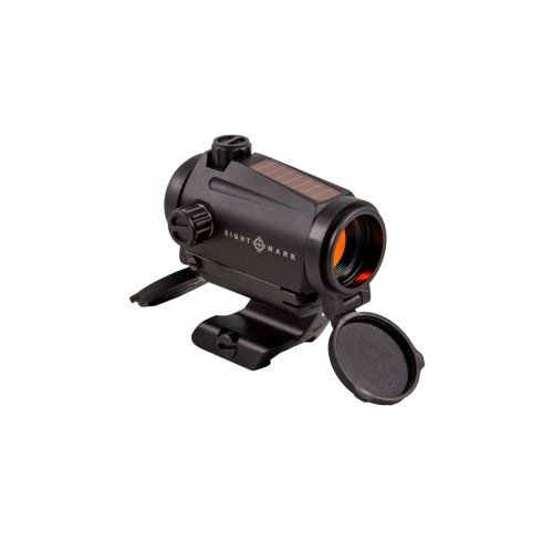 DOT SIGHT ELEMENT - MINI SOLAR - RED