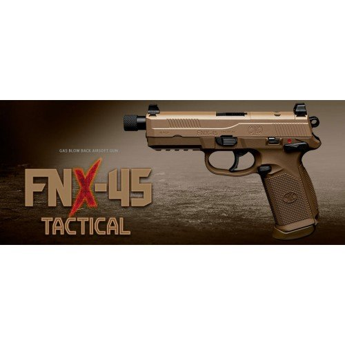 FNX-45 TACTICAL GBB - FDE