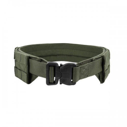 LOW PROFILE MOLLE BELT - OD GREEN - MEDIUM - WITH PLASTIC COBRA WEBBING BELT