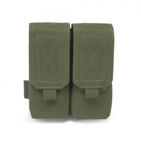 DOUBLE MAGAZINES M4 - 5.56MM POUCH - OD