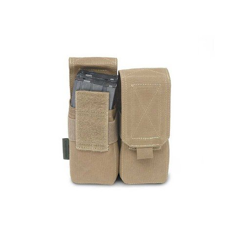 DOUBLE MAGAZINES M4 - 5.56MM POUCH - COYOTE