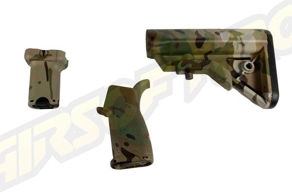 Br Furniture - Kit Pt. M4 Aeg - Multicam - Short imagine