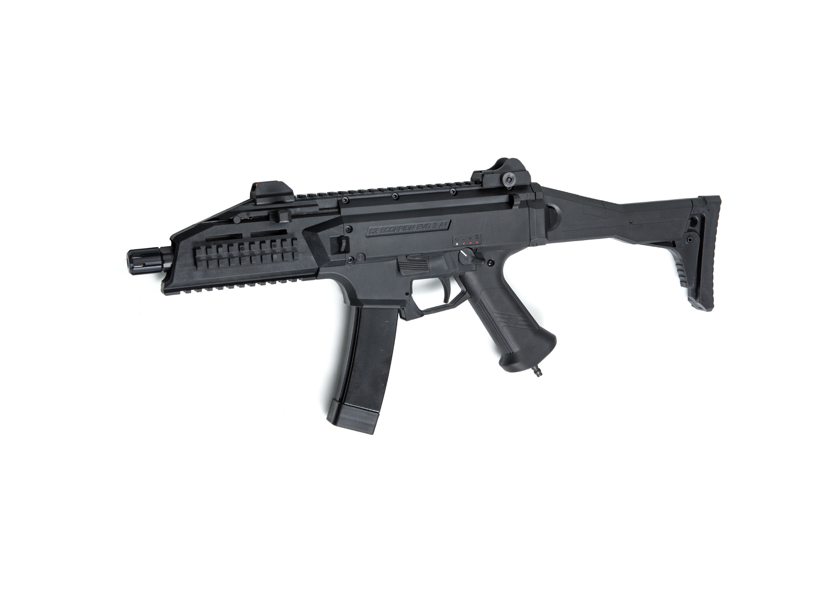 Replica Arma Airsoft CZ SCORPION EVO 3 A1 - HPA EDITION cu Functionare Electrica