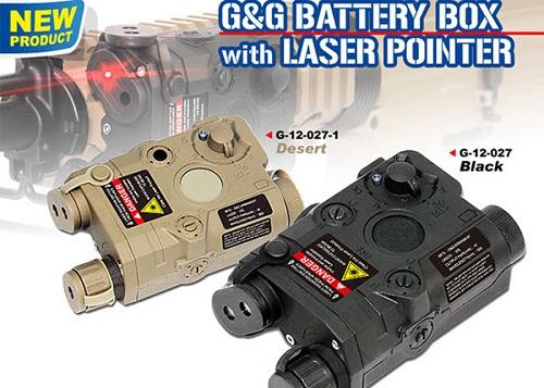 Punctator Laser / Cutie Pentru Acumulatori - Black imagine