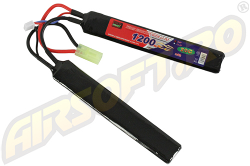 LIPO - ACUMULATOR 7.4V - 1200 MAH - 20C - MINI-TYPE