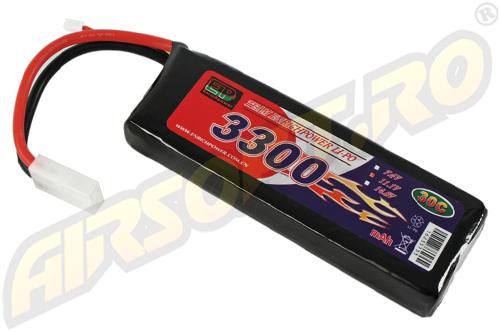 LIPO - ACUMULATOR 11.1V - 3300 MAH - 30C - LARGE-TYPE