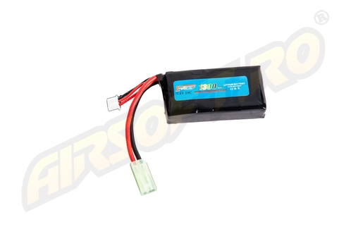LIPO - ACUMULATOR 7.4V - 1300 MAH - MINI-TYPE