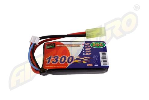 LIPO - ACUMULATOR 7.4V - 1300 MAH - 25C - MINI-TYPE