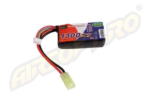 Lipo - Acumulator 11.1v - 1300 Mah - 25c - Mini-Type imagine