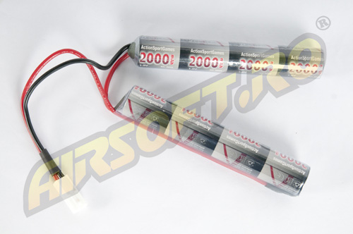 NIMH - ACUMULATOR 9.6V - 2000 MAH - MINI-TYPE
