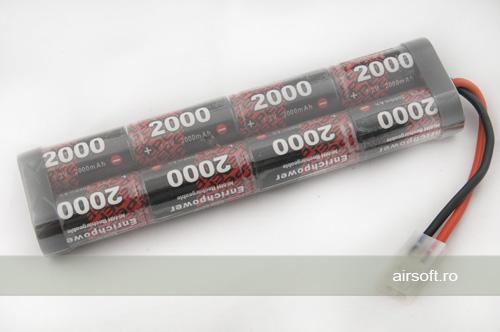 NIMH - ACUMULATOR 9.6V - 2000 MAH - LARGE-TYPE