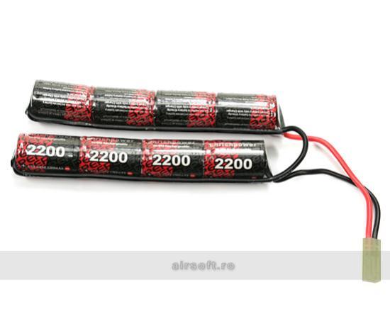 NIMH - ACUMULATOR 9.6V - 2200 MAH - CRANE STOCK - MINI-TYPE