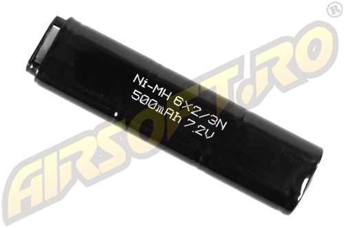 NIMH - ACUMULATOR 7.2V - 500 MAH 18C/CZ99