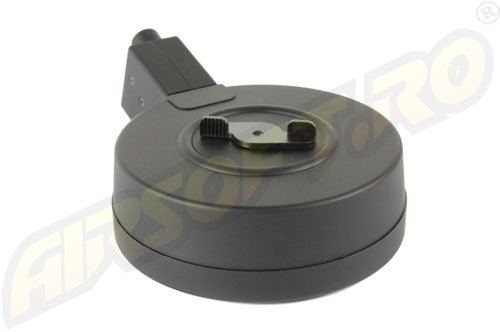 INCARCATOR DE 400 BILE / DRUM MAGAZINE PENTRU MP5 - HIGH CYCLE