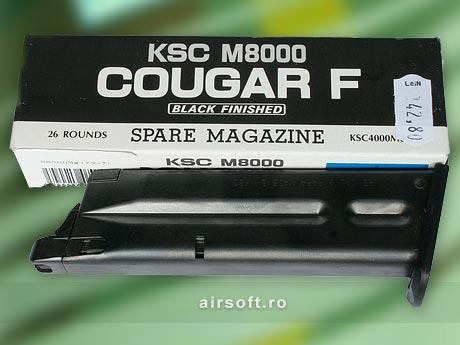 INCARCATOR DE 26 BILE - M8000 COUGAR (GBB)