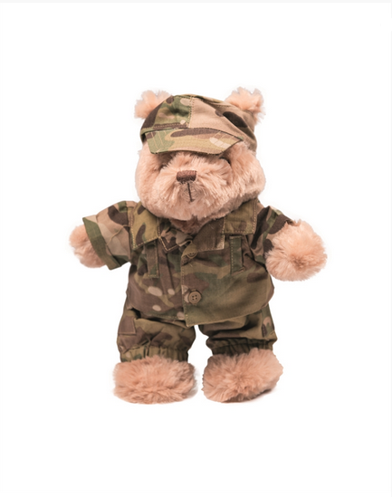 Costum De Camuflaj Pentru Teddy Bear - Multitarn imagine