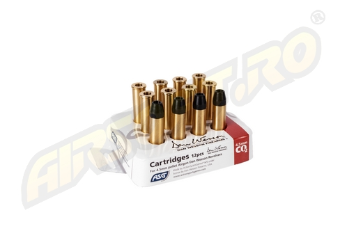 Cartuse Pentru Dan Wesson - Calibrul 4.5 Mm - (X12) imagine