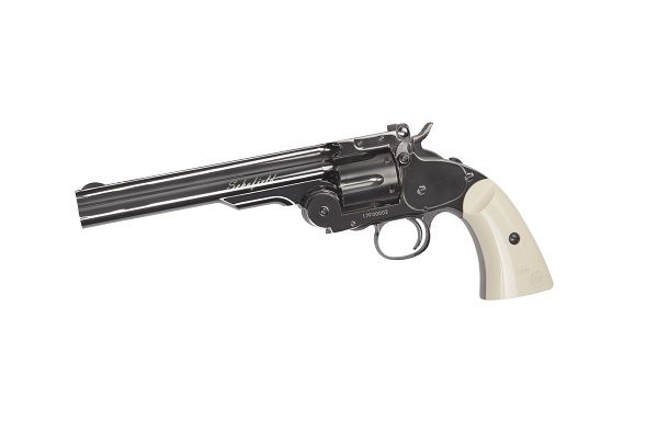 Revolver Schofield 6 Inch - Cal. 4.5mm - Gnb - Co2 - Steel imagine