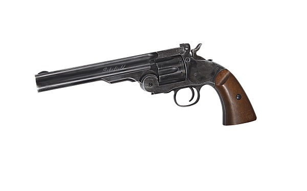 Revolver Schofield 6 Inch - Cal. 4.5mm - Gnb - Co2 - Black imagine