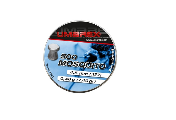 Pellete Mosquito Calibrul 4.5 Mm - 0.48g - 500 Buc imagine