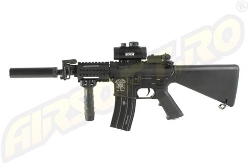 Imagine  2666.27 lei, AIRSOFT.RO M4 Cqb, Black, Custom