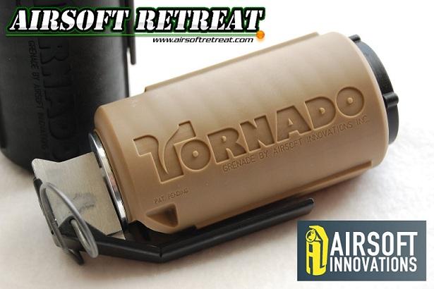 Imagine Airsoft Innovations Grenada Model Tornado  - Desert Tan Timer