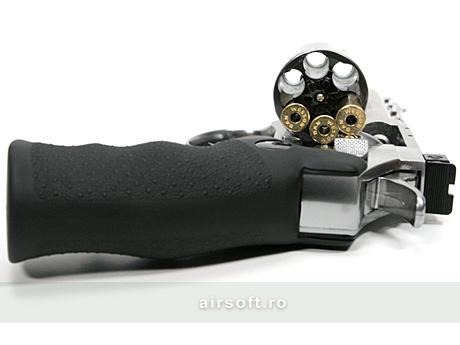Imagine 549.0 lei, ASG Revolver Dan Wesson 4 Inch Silver, Full Metal, Gnb