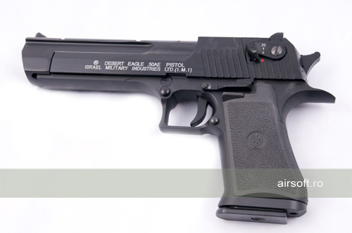 Imagine Cyber Gun Desert Eagle 50ae  - Metal Slide Semi Full Auto Gbb Co2
