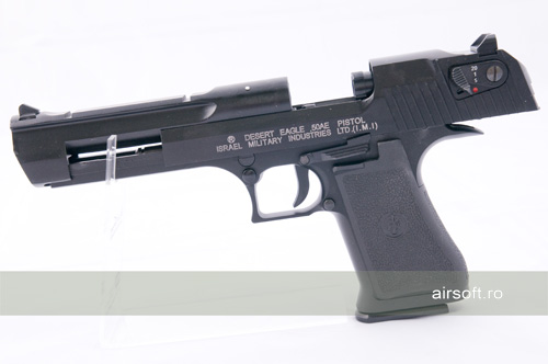 DESERT EAGLE 50AE - METAL SLIDE - SEMI AUTO - GBB - CO2