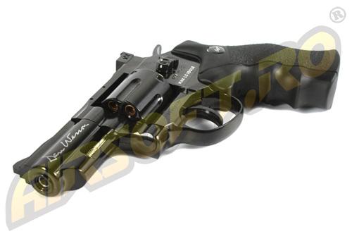 Revolver Dan Wesson 2.5 Inch Negru - Full Metal - Gnb - Co2 imagine