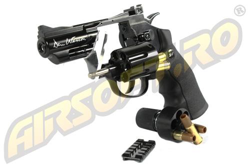 Imagine  499.0 lei, ASG Revolver Dan Wesson 2.5 Inch Negru, Full Metal, Gnb
