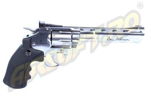 Imagine 549.0 lei, ASG Revolver Dan Wesson 6 Inch Silver, Full Metal, Gnb