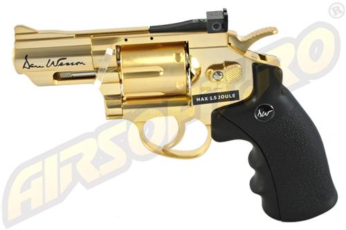 Imagine 799.0 lei, ASG Revolver Dan Wesson 2.5 Inch Gold, Full Metal, Gnb
