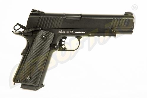 Imagine  Umarex Elite Force 1911 Tac  - Full Metal Gbb Co2 Black